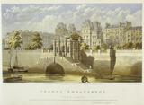Thames Embankment, York Gate: 1864