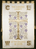 Suffragette banner: 20th century