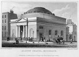 Albion Chapel, Moorgate: 1828