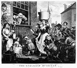 The Enraged Musician: 1741