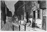 Une Ruelle dans Spitalfields: 1884