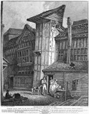 Old House in Grub Street, 1811