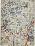 Descriptive map of London Poverty: Section 17: 1889
