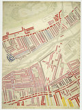 Descriptive map of London Poverty: Section 53: 1889