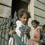 A young girl Notting Hill Gate: 1960