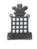 Lead fire mark, Westminster insurance company: 18th Century