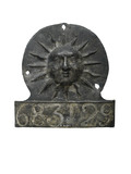 Lead fire mark, Sun insurance company: 1798