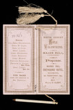 Dance programme : 1875