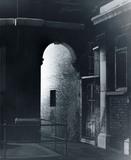 Dark street in the East End: Circa 1900.