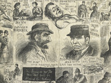 Sketches of the murderer: 1888