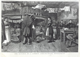 The Kitchen of a common lodging-house, Spitalfields: 1886