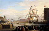 The Opening of St Katharine Dock: 1828