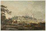 White Lead Manufactory, Islington: c.1795