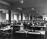 Staff Canteen London Dock: 1953