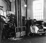 PLA Workshop, London Dock: 1961