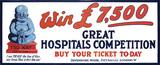 Hospital appeal poster: 1923