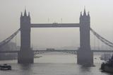 Tower Bridge in the fog; 2007
