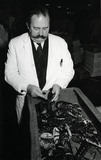 Billingsgate Market inspector: c. 1980