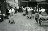 Billingsgate Market porters: c.1980