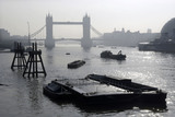 Misty view of Tower Bridge and The River Thames; 2007