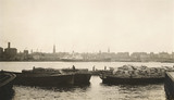 Barges at Surrey Docks; 1933