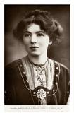 Miss Christabel Pankhurst: c.1910