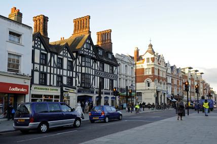 Clapham High Street; 2009