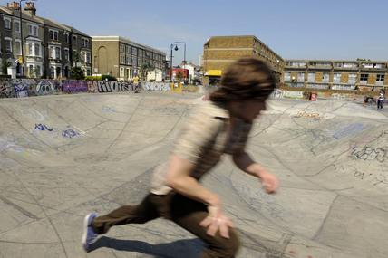 Brixton Skate board Park; 2009