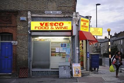 A corner shop; 2009