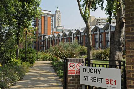 New housing on Duchy Street; 2009