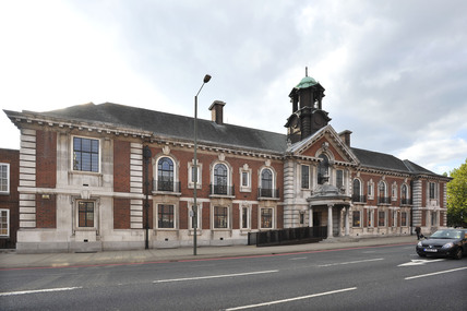 The former Bromley Town hall; 2009
