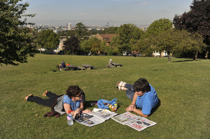 Telegraph Hill Park; 2009