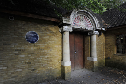 Entrance to Chislehurst Caves; 2009
