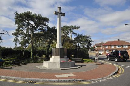 The war memorial in Bexley; 2009