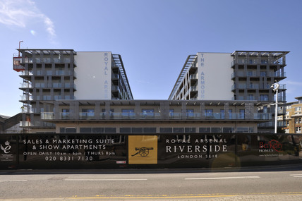 The Royal Arsenal Riverside Development; 2009