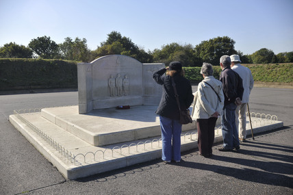 Battle of Britain memorial; 2009