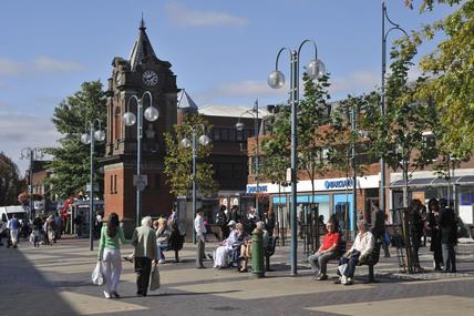 The Market Place Bexley Heath; 2009