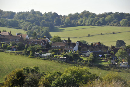 A view from Farthing Down; 2009