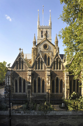 Southwark Cathedral; 2009