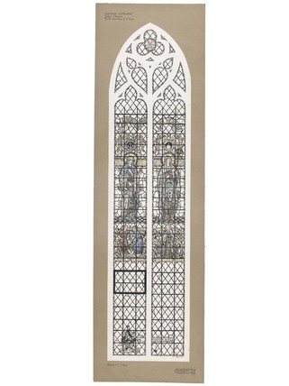A design for a stained glass window for the Lady Chapel, Liverpool Cathedral: c. 1905