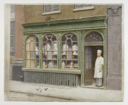 Birch's Confectionary Shop, 15 Cornhill: 1926