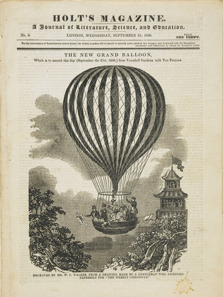 The front cover of Holt's Magazine No.5; 1836