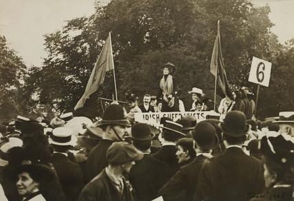 Hyde Park Demonstration: 21 June 1908