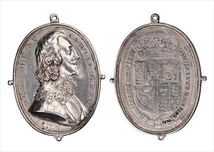 Medal of Charles I; 1601-1700