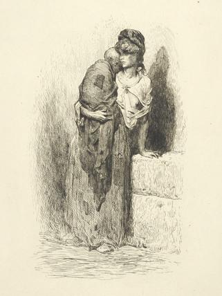 Pauvresse a Londres 1873