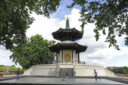 The Pagoda in Battersea Park; 2009