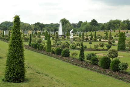 The Privy Garden at Hampton Court; 2009