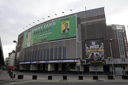 The Hammersmith Apollo; 2009