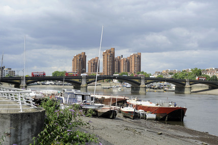 A view of the Thames from Battersea; 2009