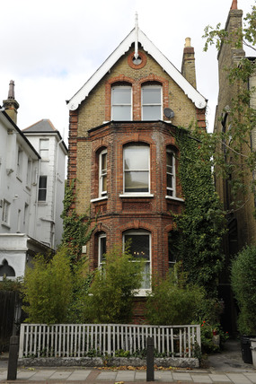 Typical Victorian townhouse; 2009